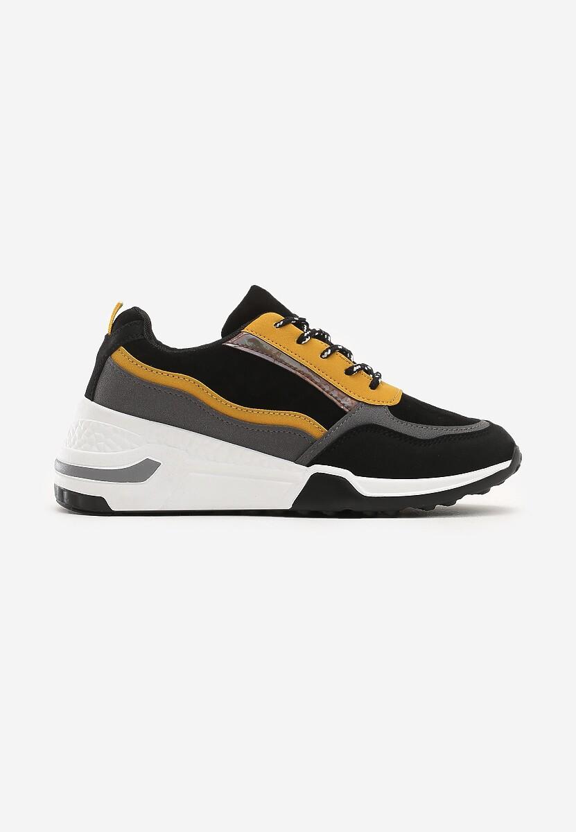 Czarne Sneakersy Toledo