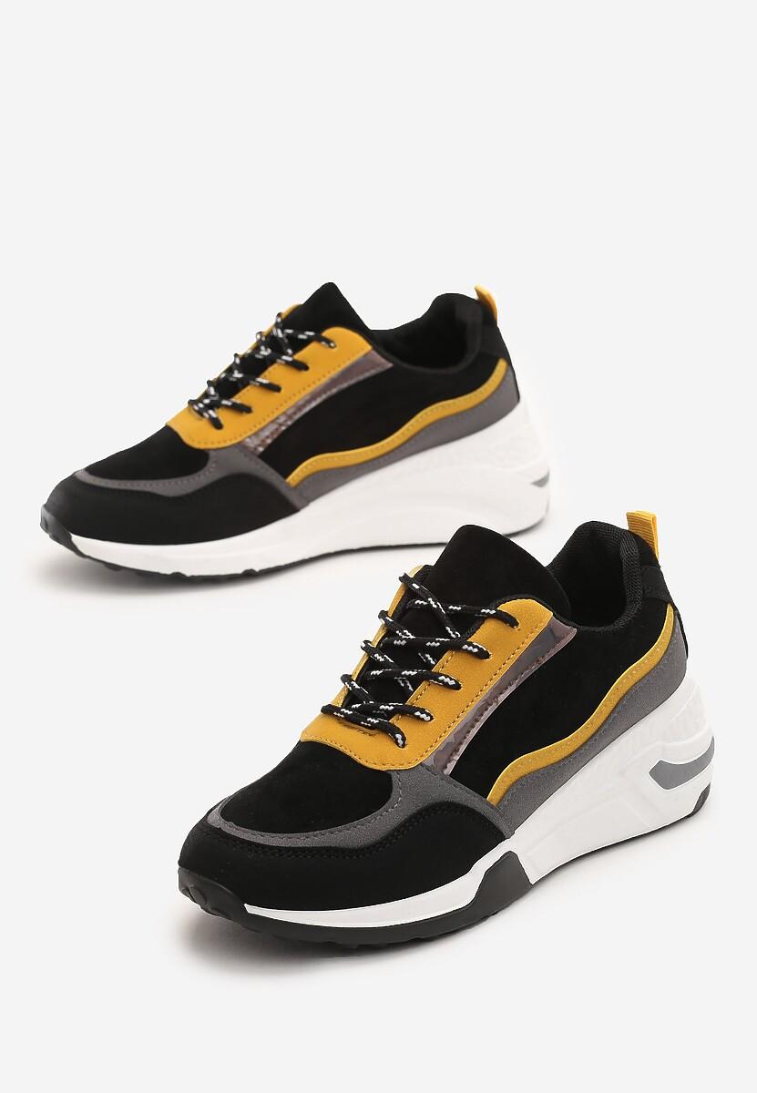 Czarne Sneakersy Toledo w Www.renee.pl