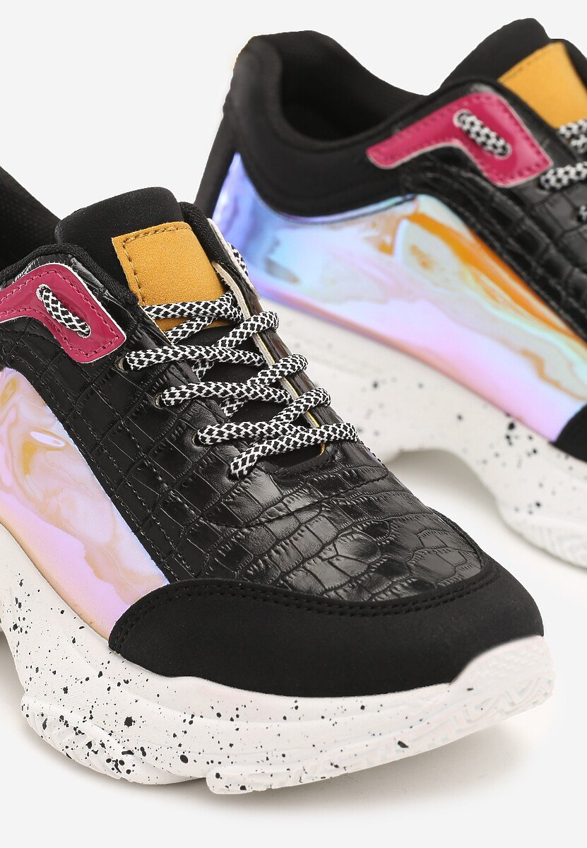 Czarne Sneakersy Wisconsin