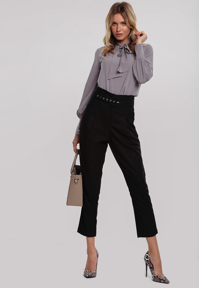 Czarne Spodnie Edgware