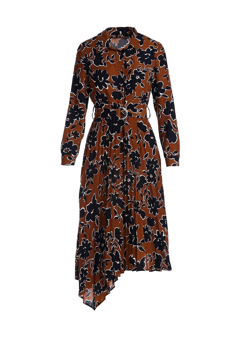 Brązowa Sukienka Melodist