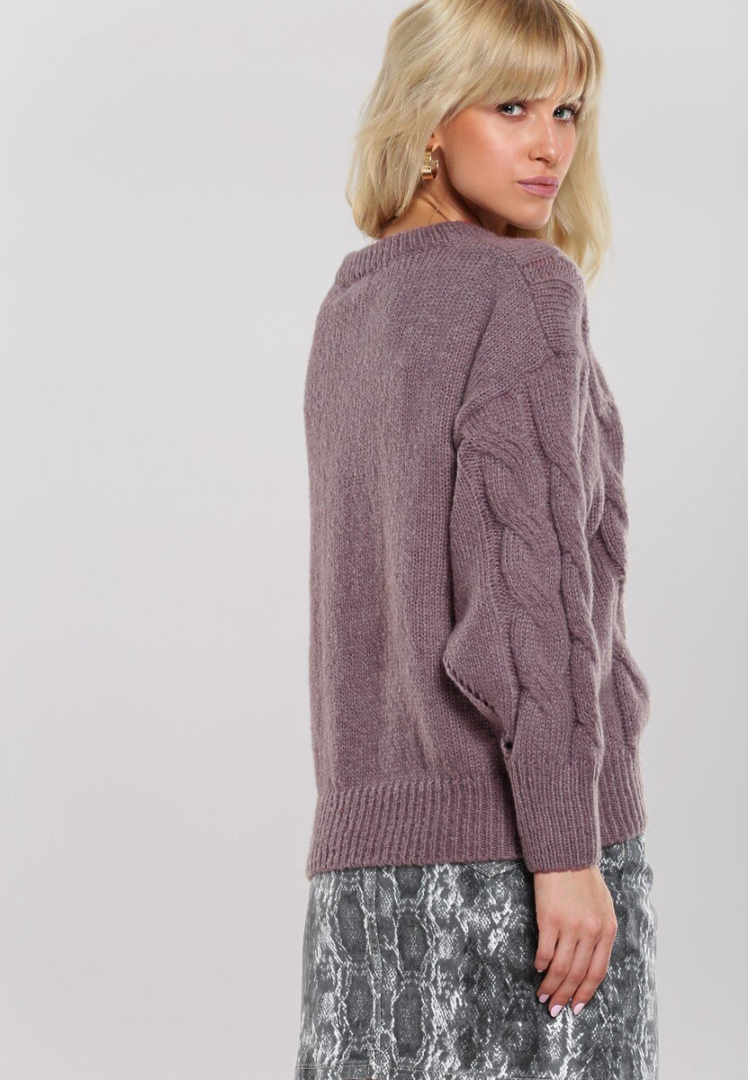 Jasnobrązowy Sweter Zounds