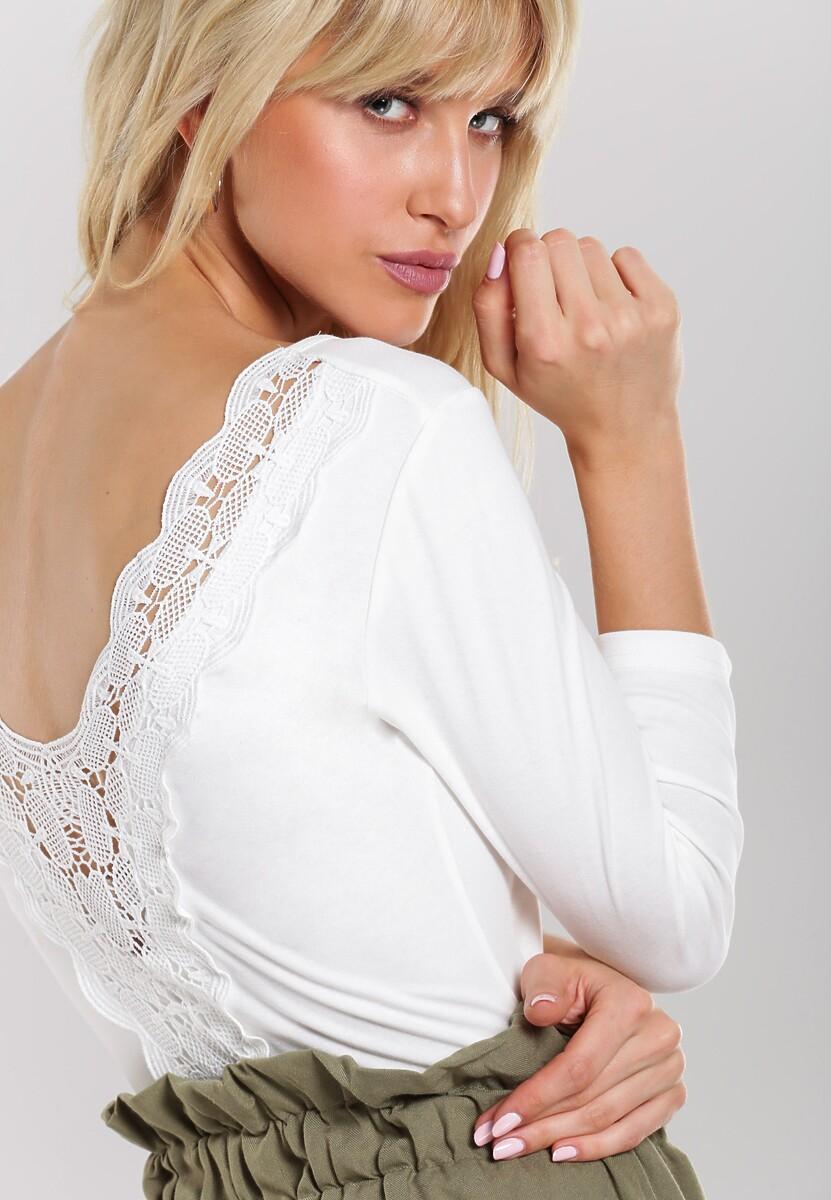 Biała Bluzka Holloway