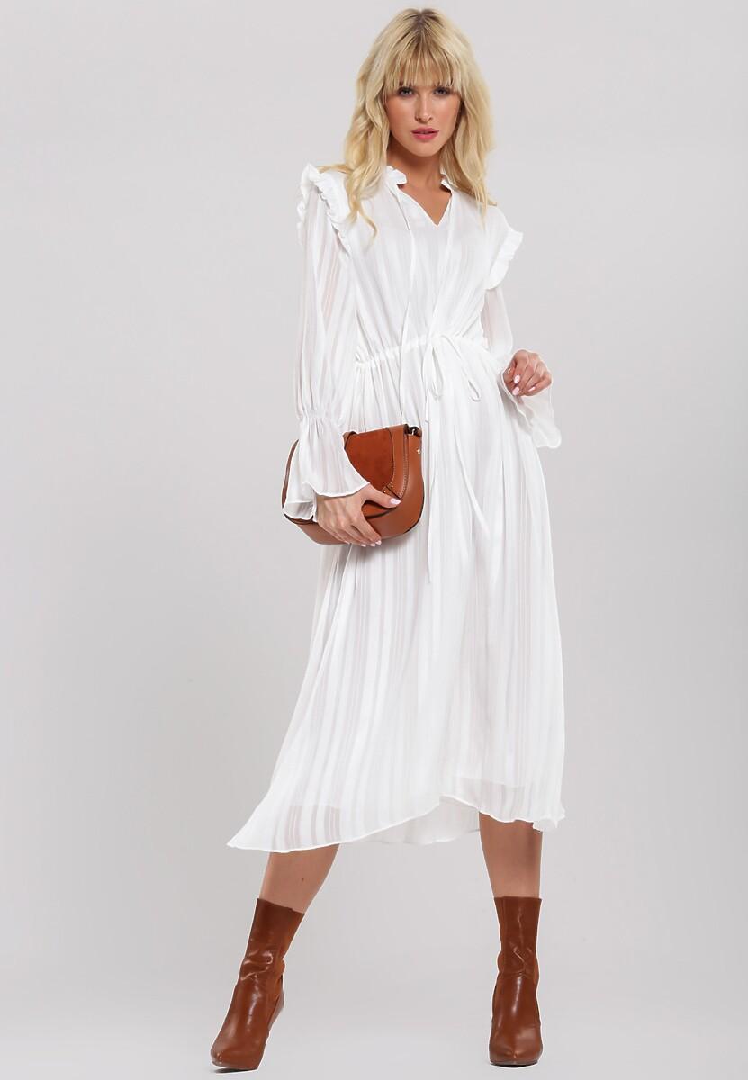 Biała Sukienka Naught