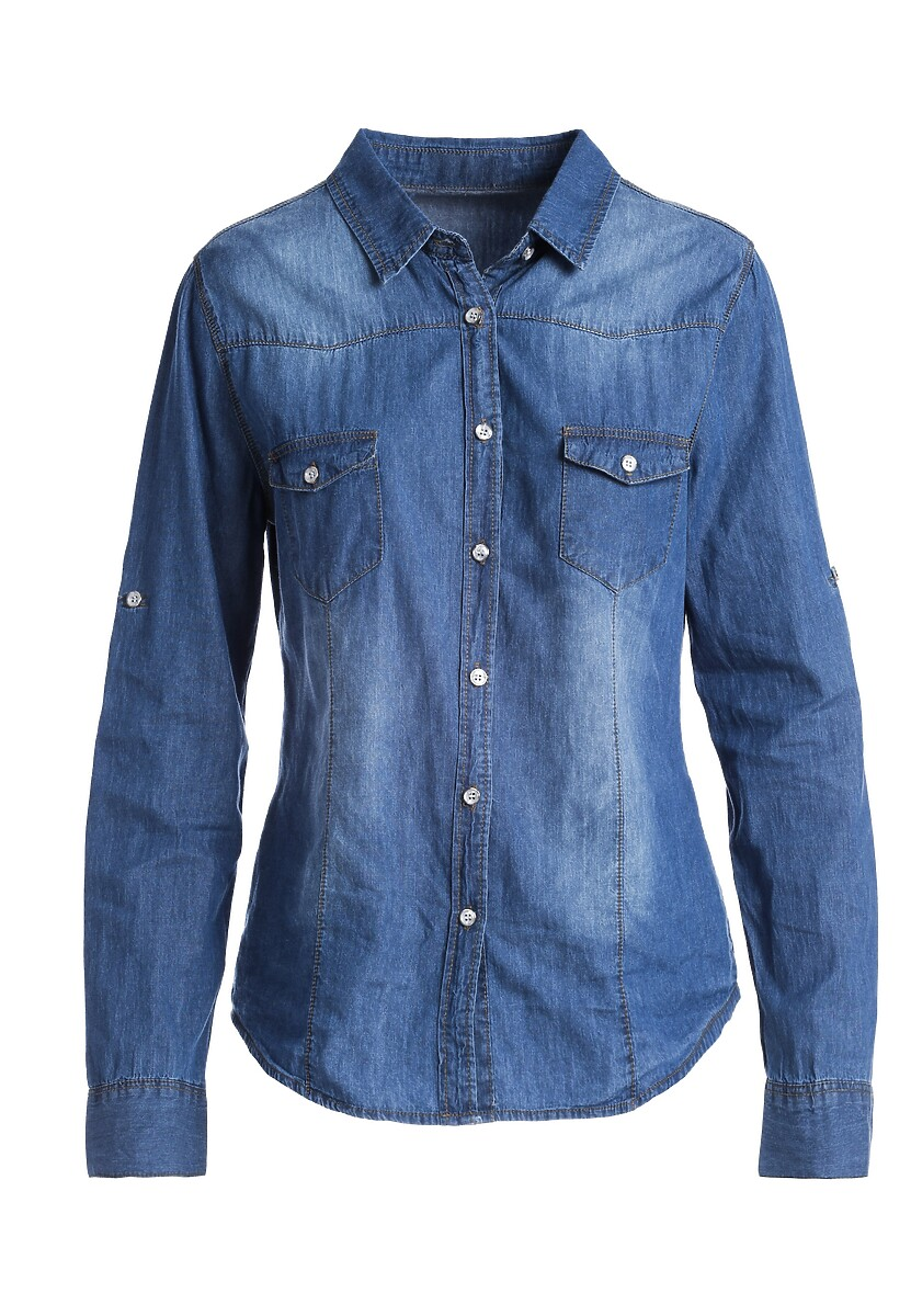 Niebieska Koszula Zen