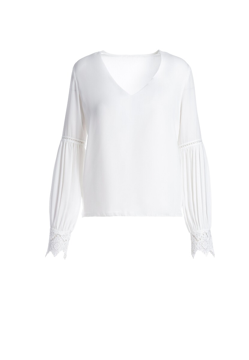 Biała Bluzka Heaton