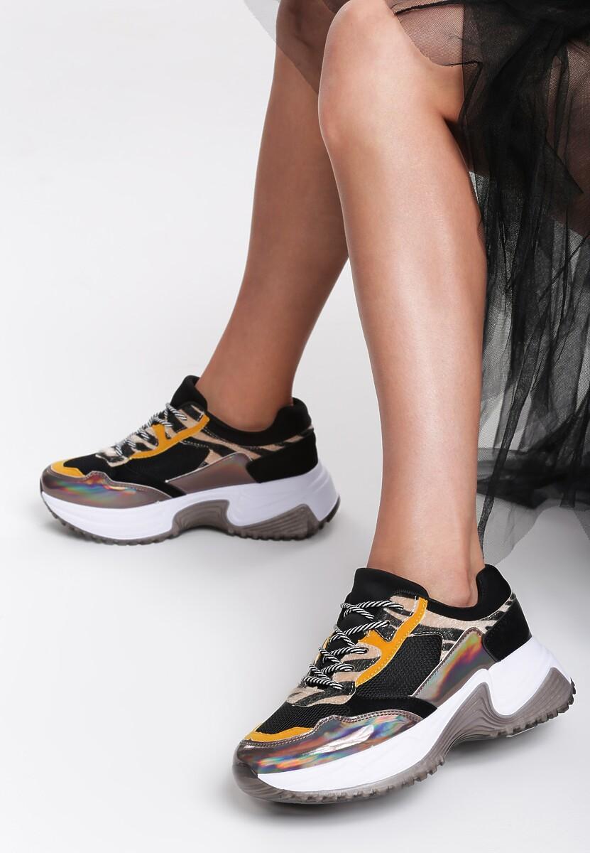 Czarne Sneakersy Camden