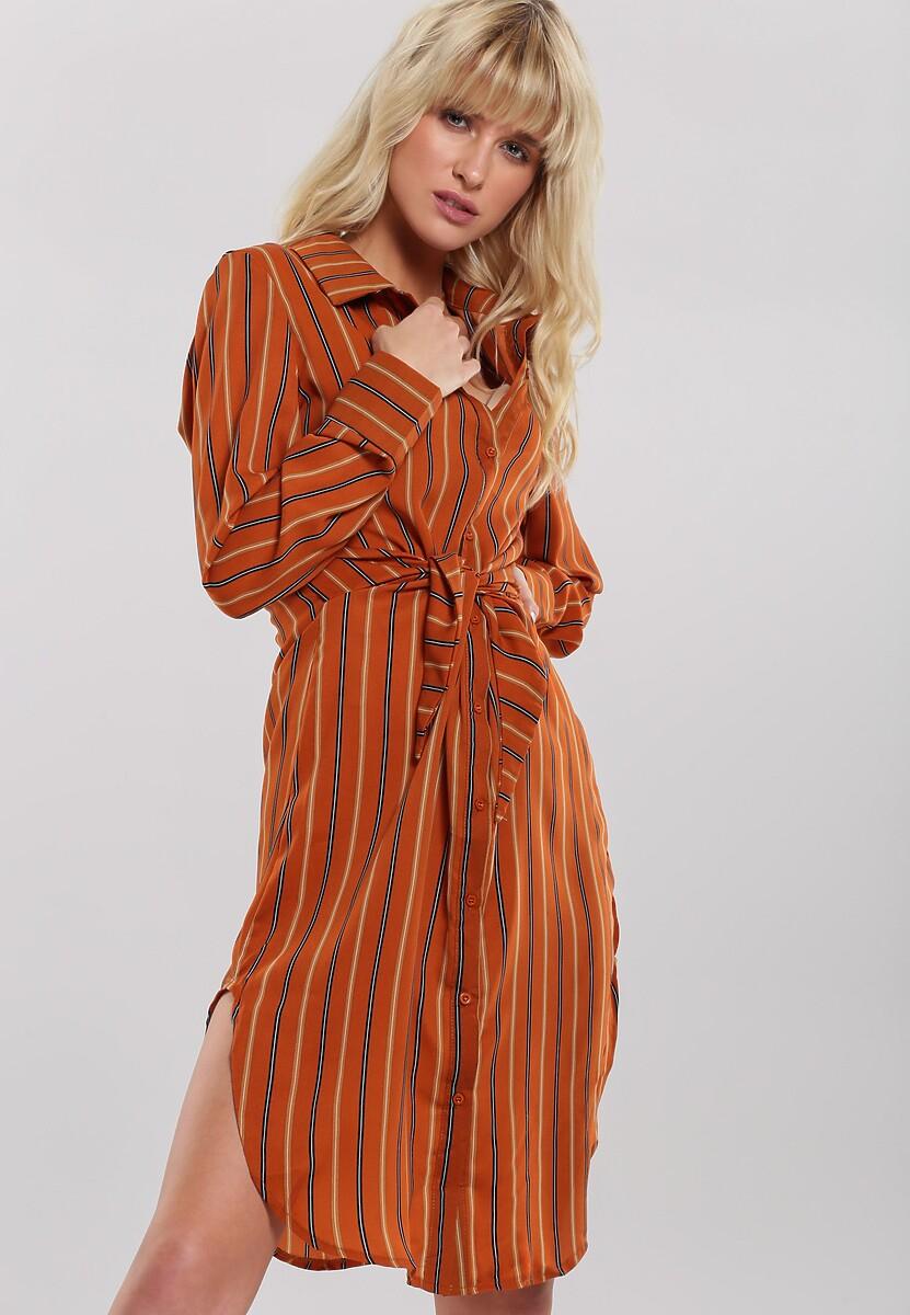 Camelowa Sukienka Easting Kod produktu: 104343