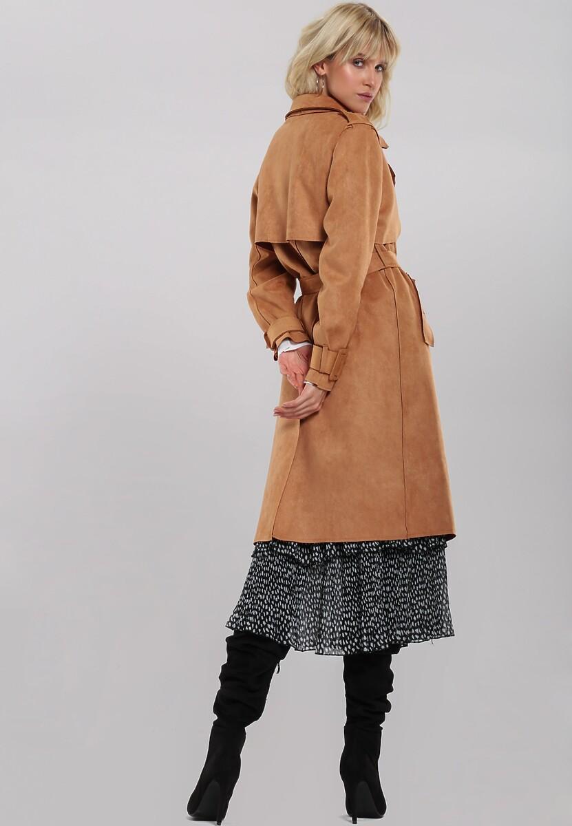 Camelowy Płaszcz Dovecot