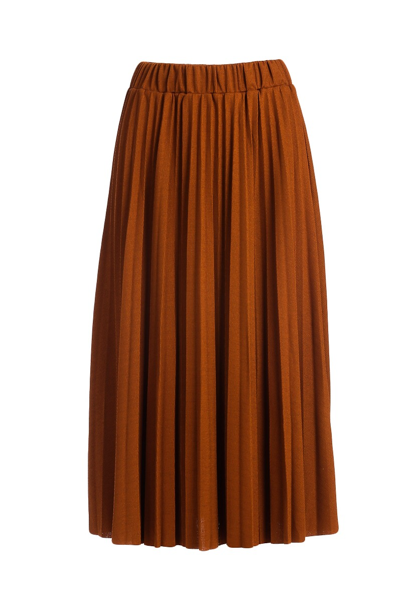 Camelowa Spódnica Shave