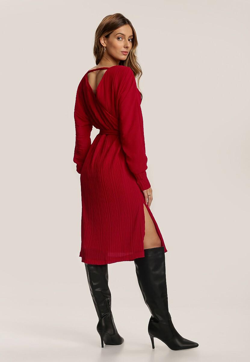 Czerwona Sukienka Chaumont