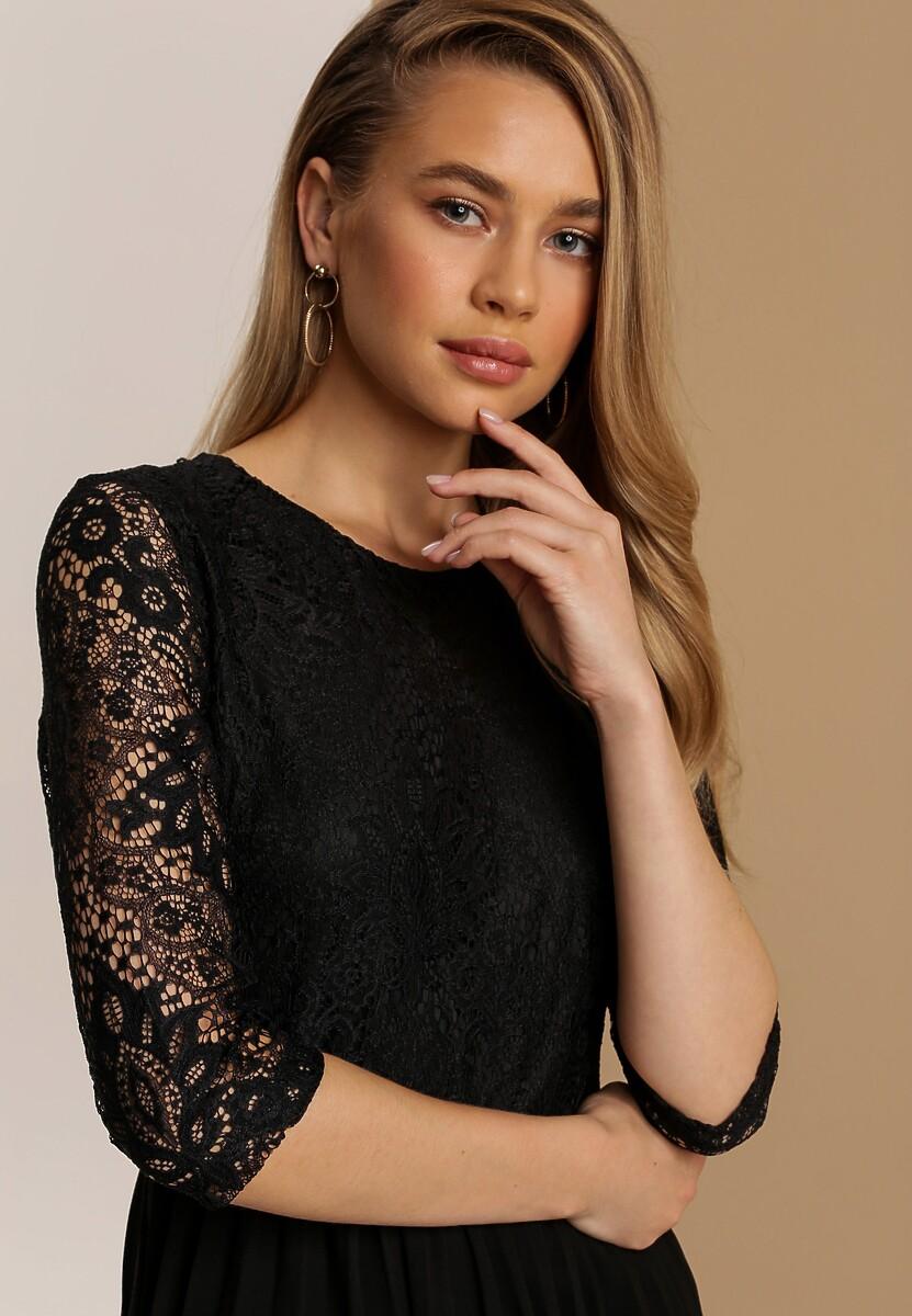 Czarna Sukienka Cavaillon