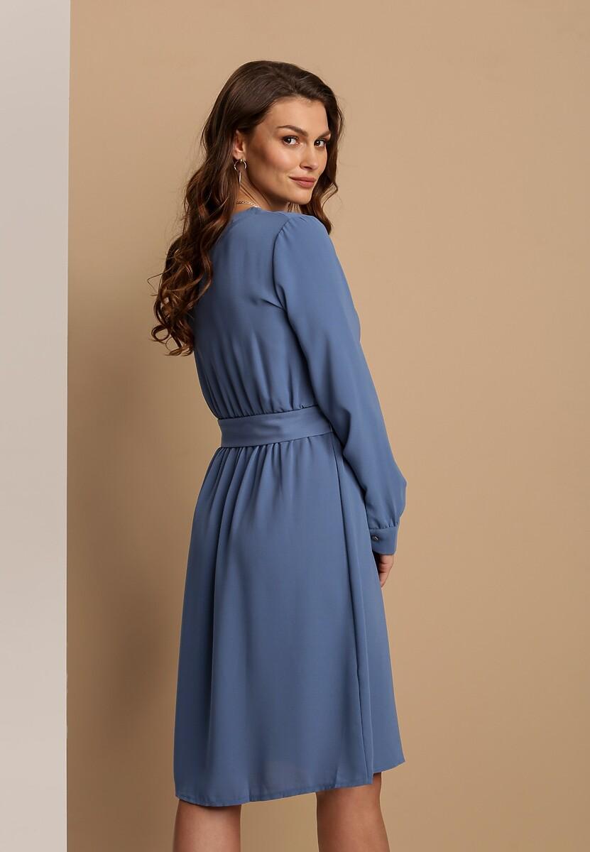 Niebieska Sukienka Aveyron