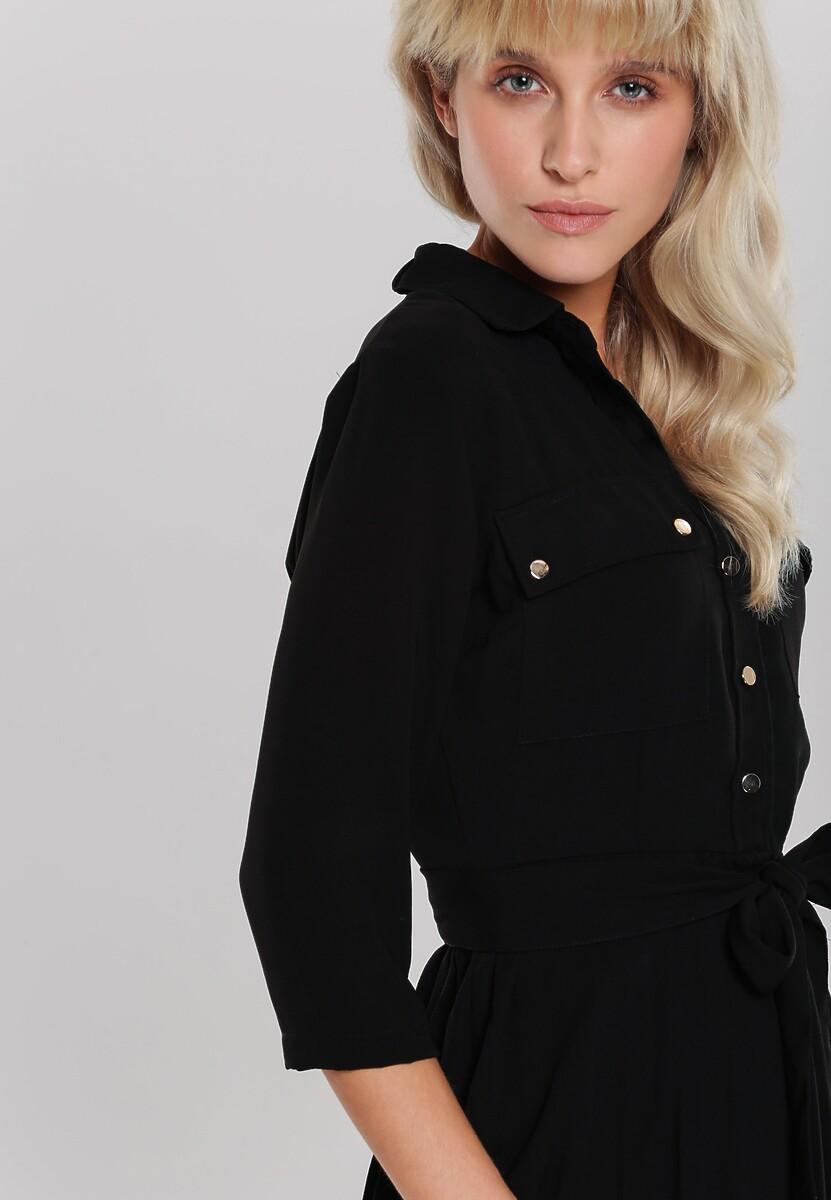 Czarna Sukienka Abbeville
