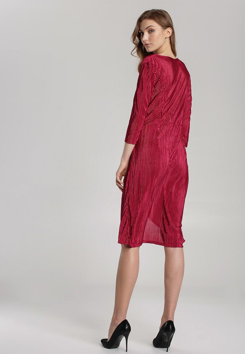 Czerwona Sukienka Millau