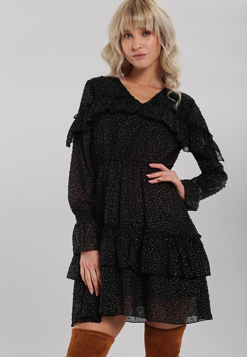 Czarna Sukienka Caterina