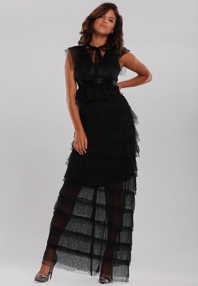 Czarna Sukienka Romantically