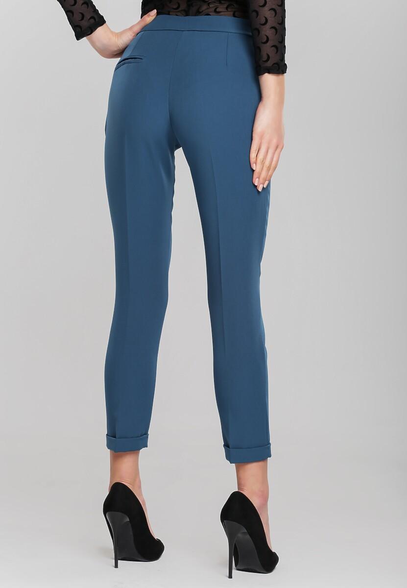 Niebieskie Spodnie Dignified
