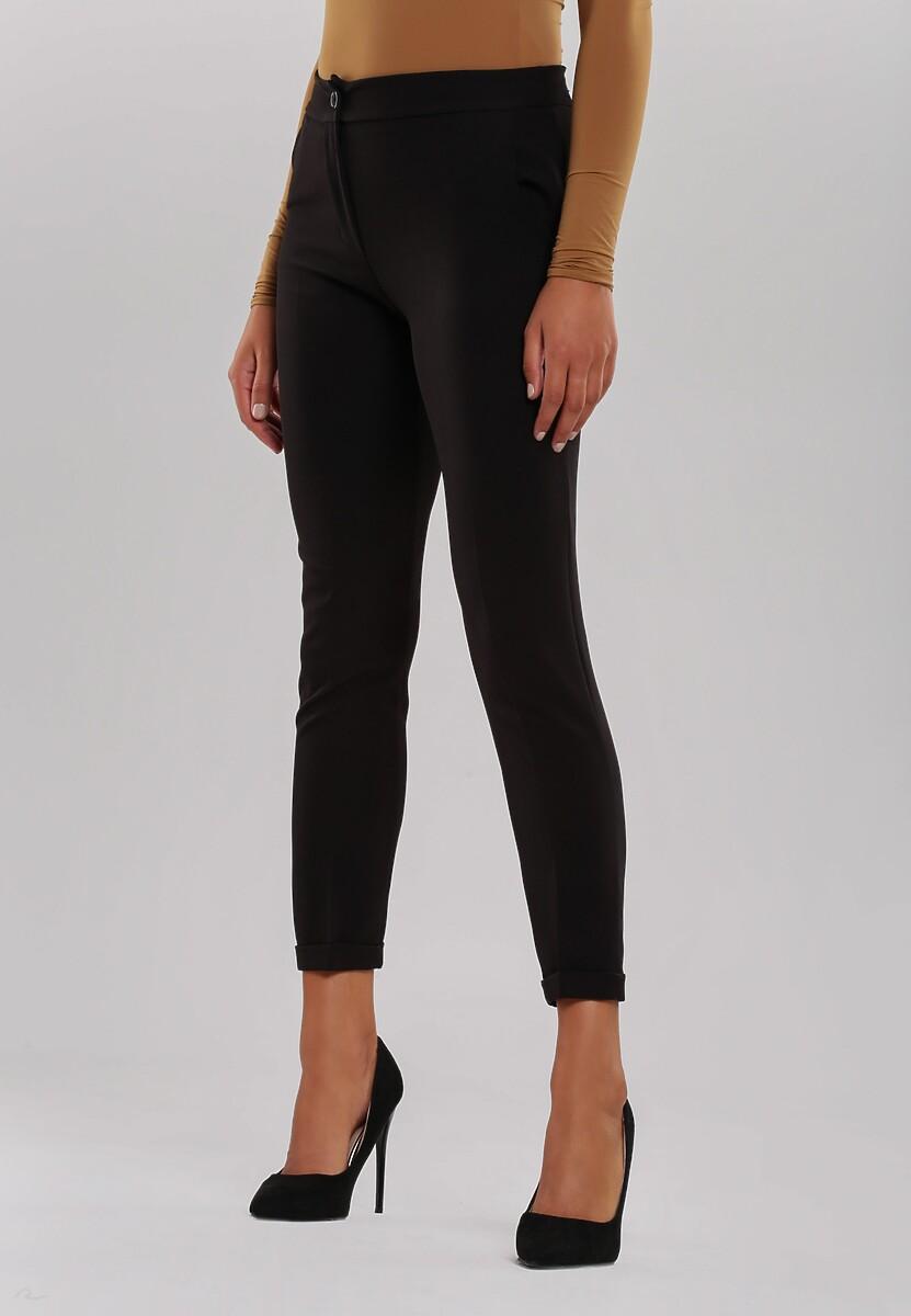 Czarne Spodnie Dignified
