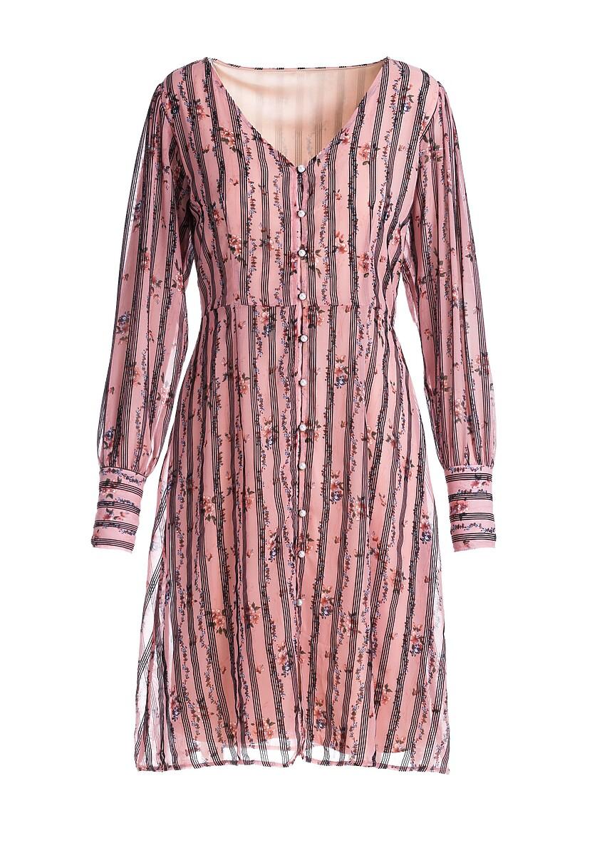 Różowa Sukienka Vertou
