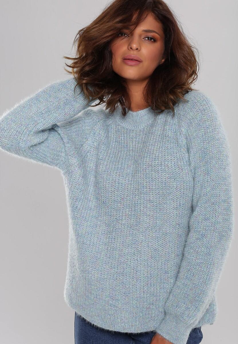 Niebieski Sweter Balgreen