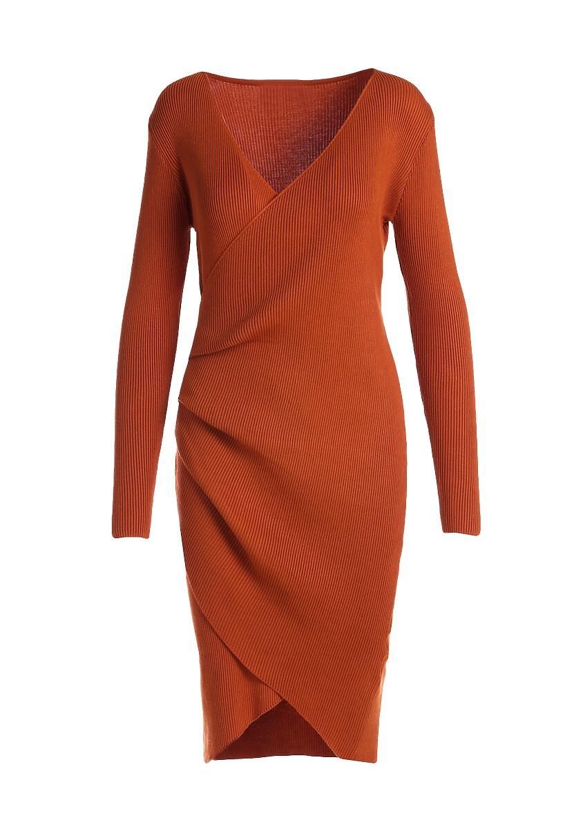 Camelowa Sukienka Shirehampton