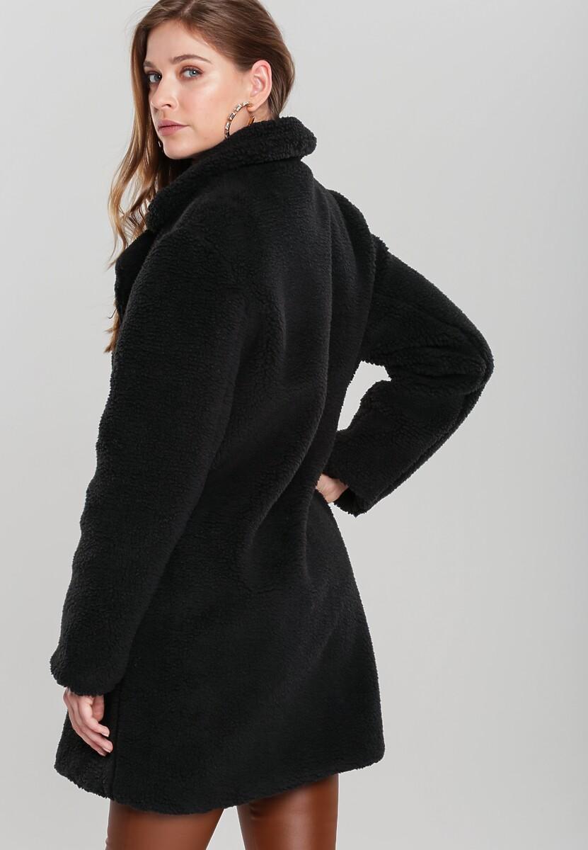 Czarny Płaszcz Ravelston