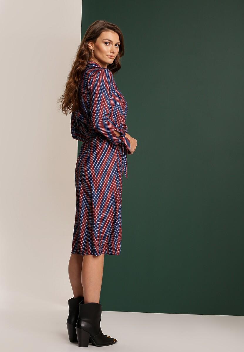 Bordowa Sukienka Garbutt