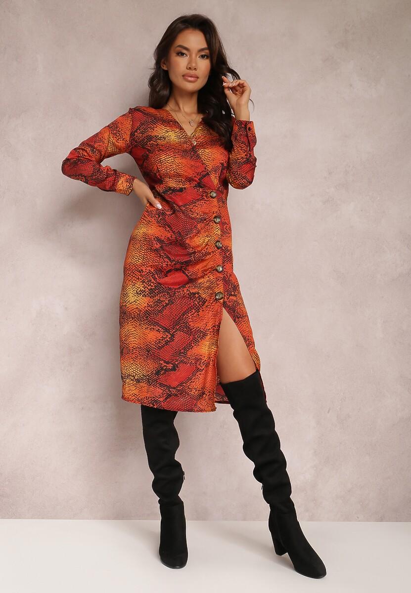 Czerwona Sukienka Bonnells