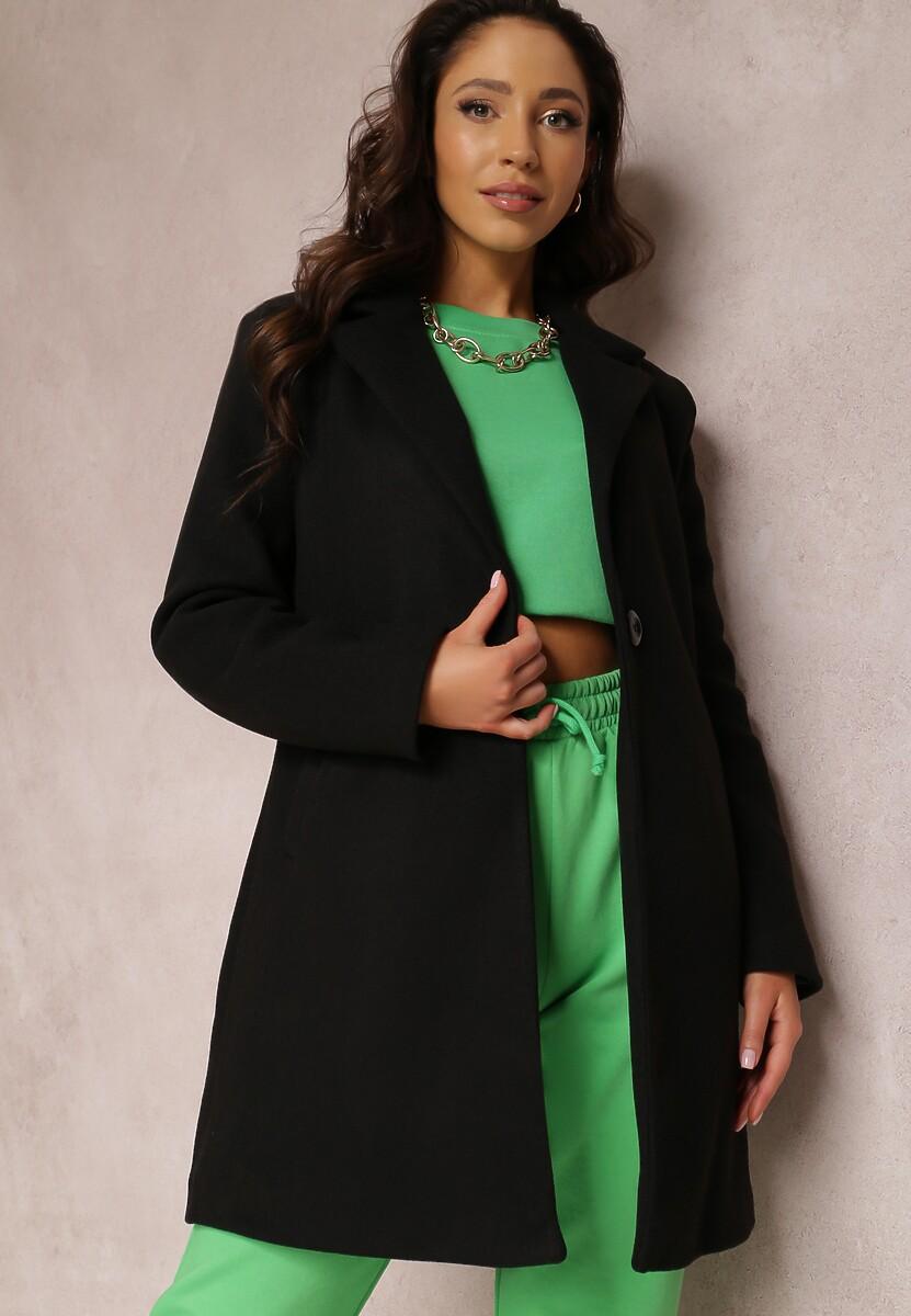 Czarny Płaszcz Restalrig