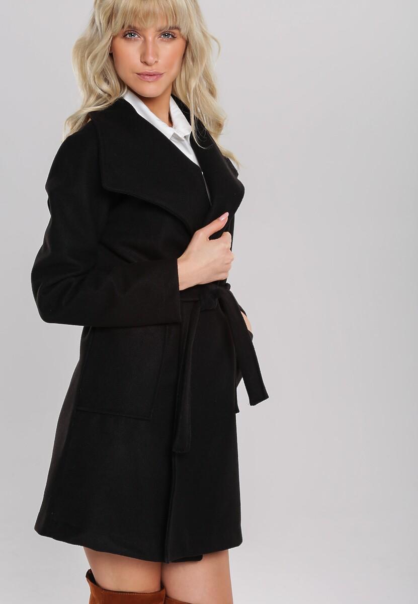 Czarny Płaszcz Roseburn