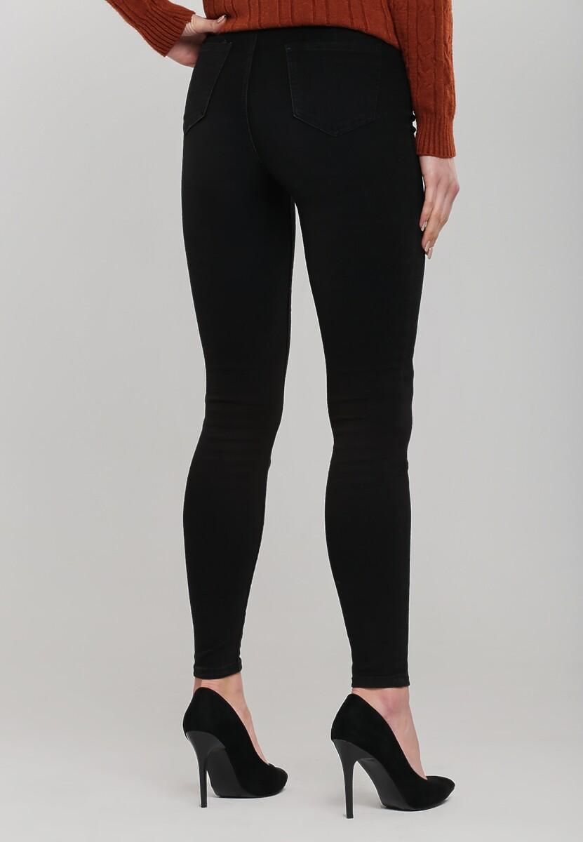 Czarne Spodnie Waterview