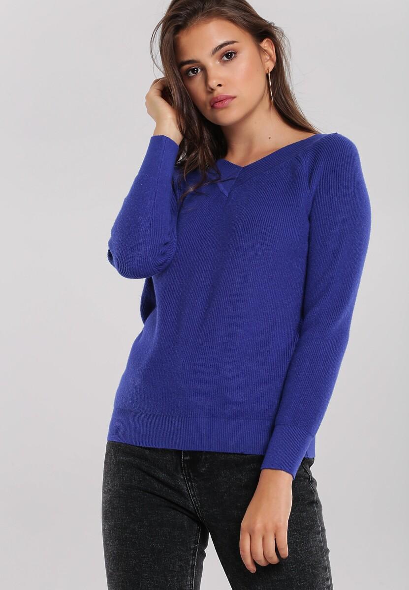 Granatowy Sweter Bentleigh