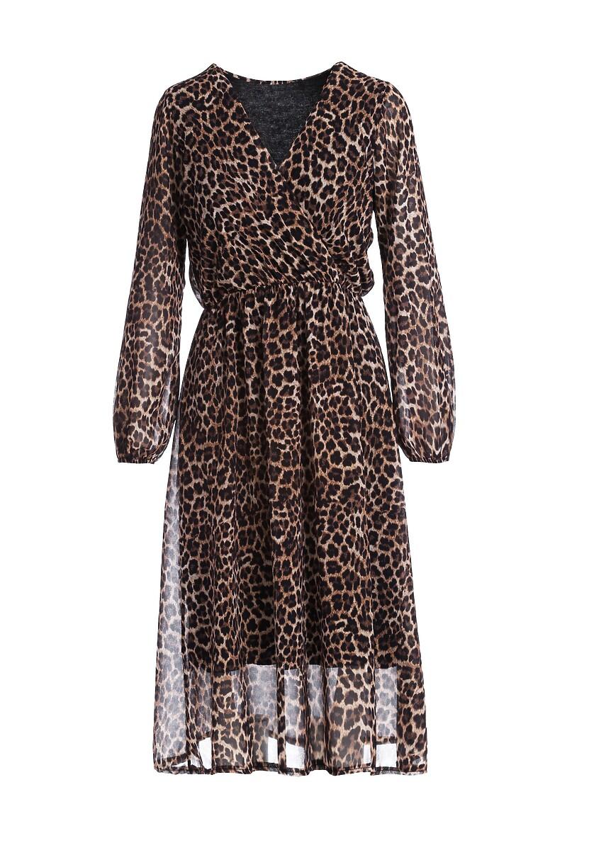 Panterkowa Sukienka Bondi