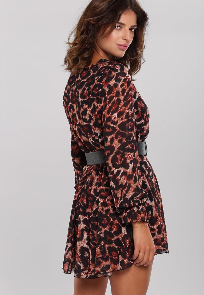 Camelowa Sukienka Berrilee