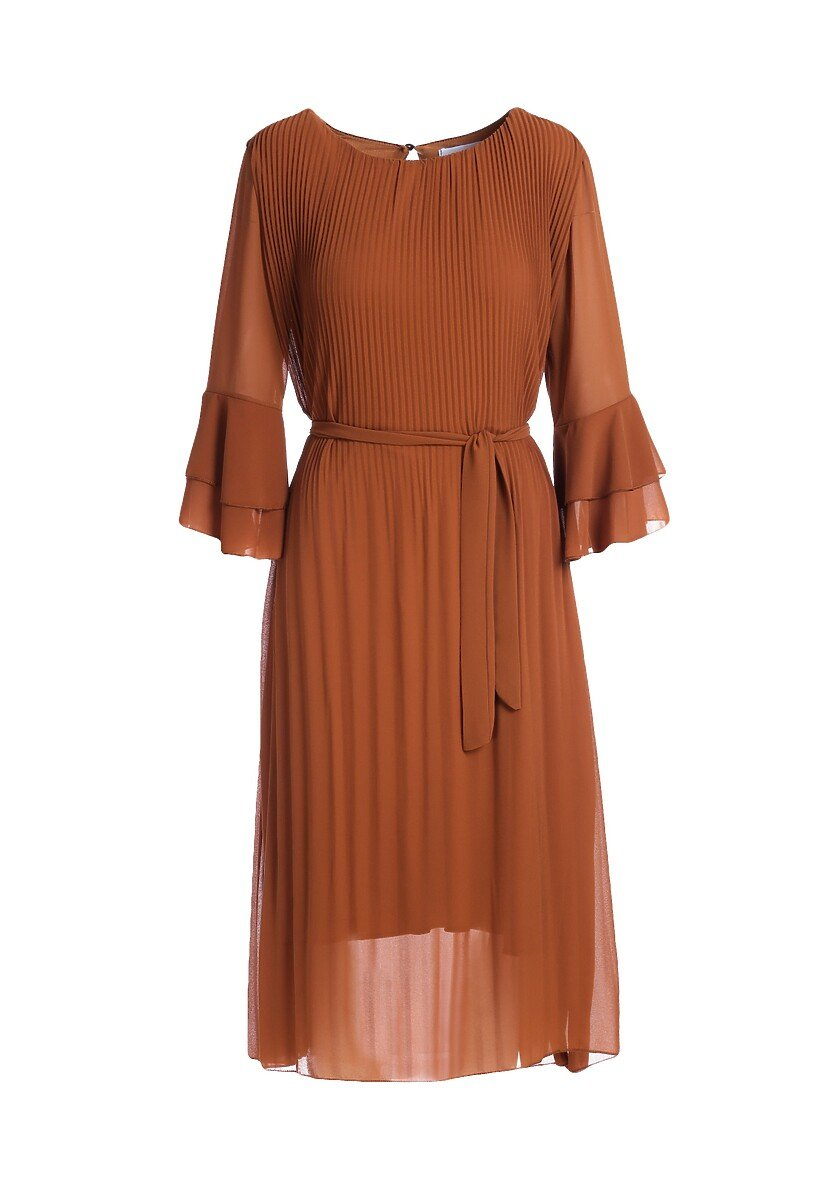 Brązowa Sukienka Banksia