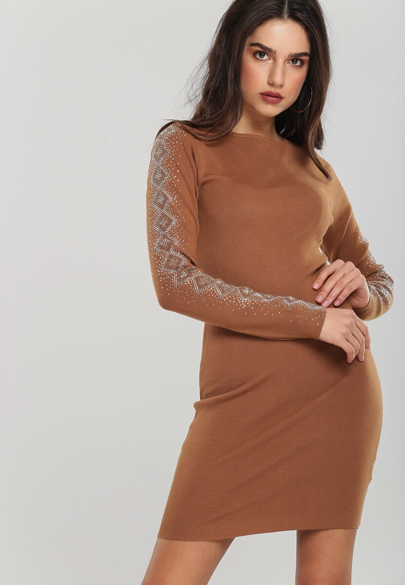 Brązowa Sukienka Kearns Kod produktu: 106053