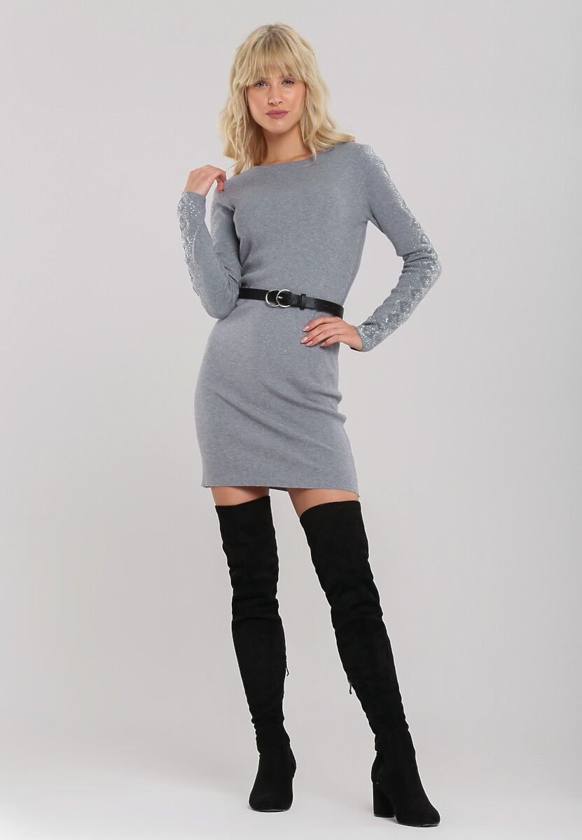 Szara Sukienka Kearns Kod produktu: 106057