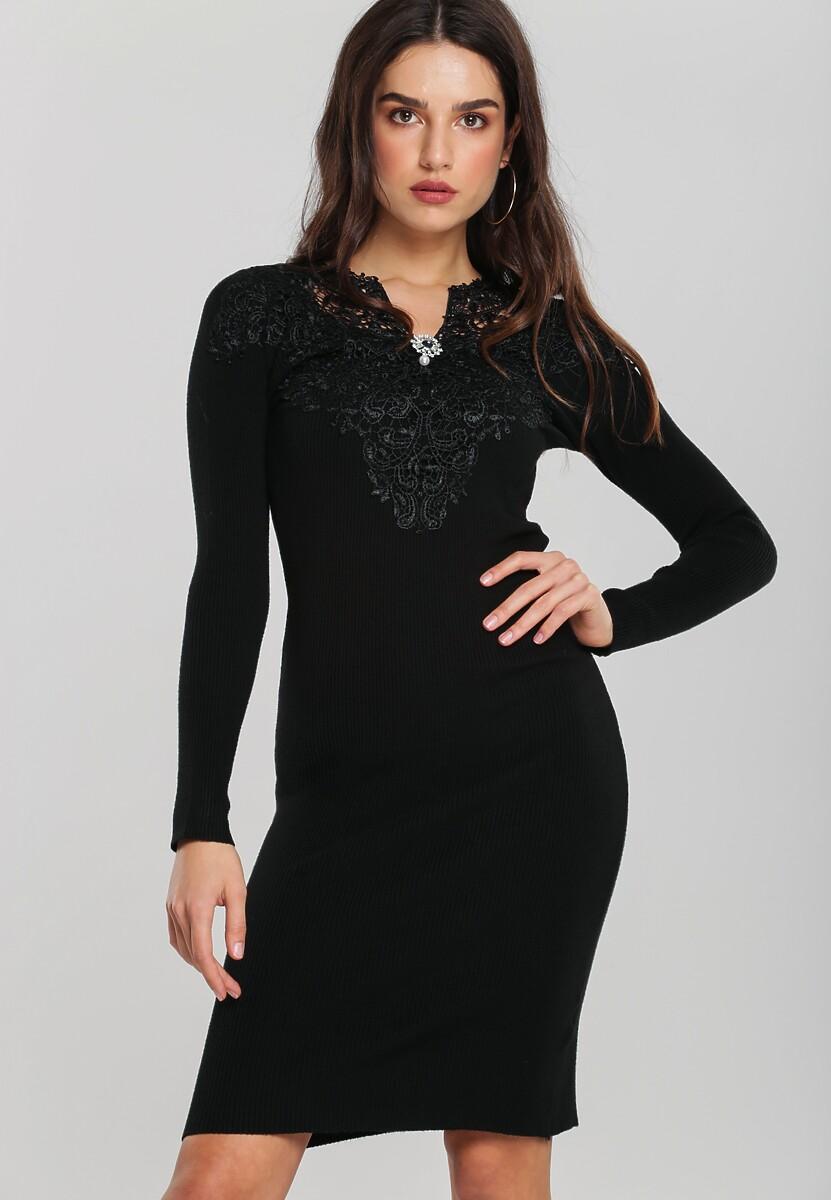 Czarna Sukienka Luddenham Kod produktu: 106037