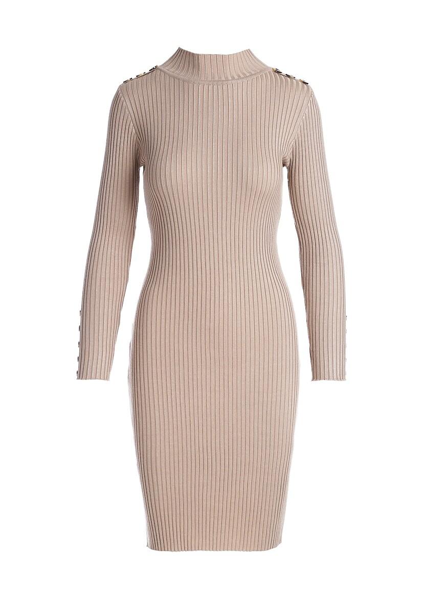Beżowa Sukienka Lansvale