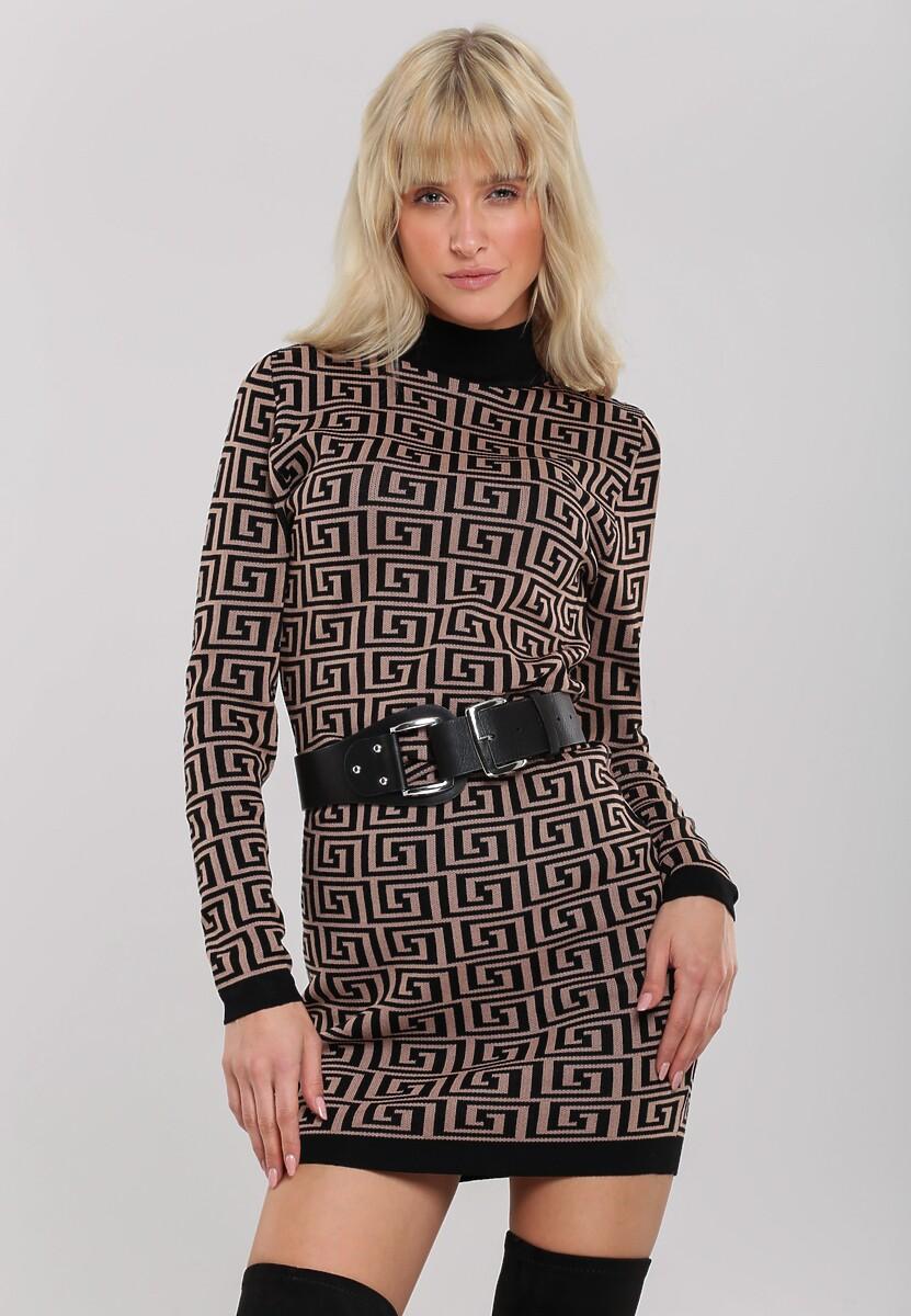 Czarna Sukienka Leonay