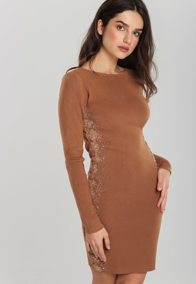 Brązowa Sukienka Macquarie Kod produktu: 106097