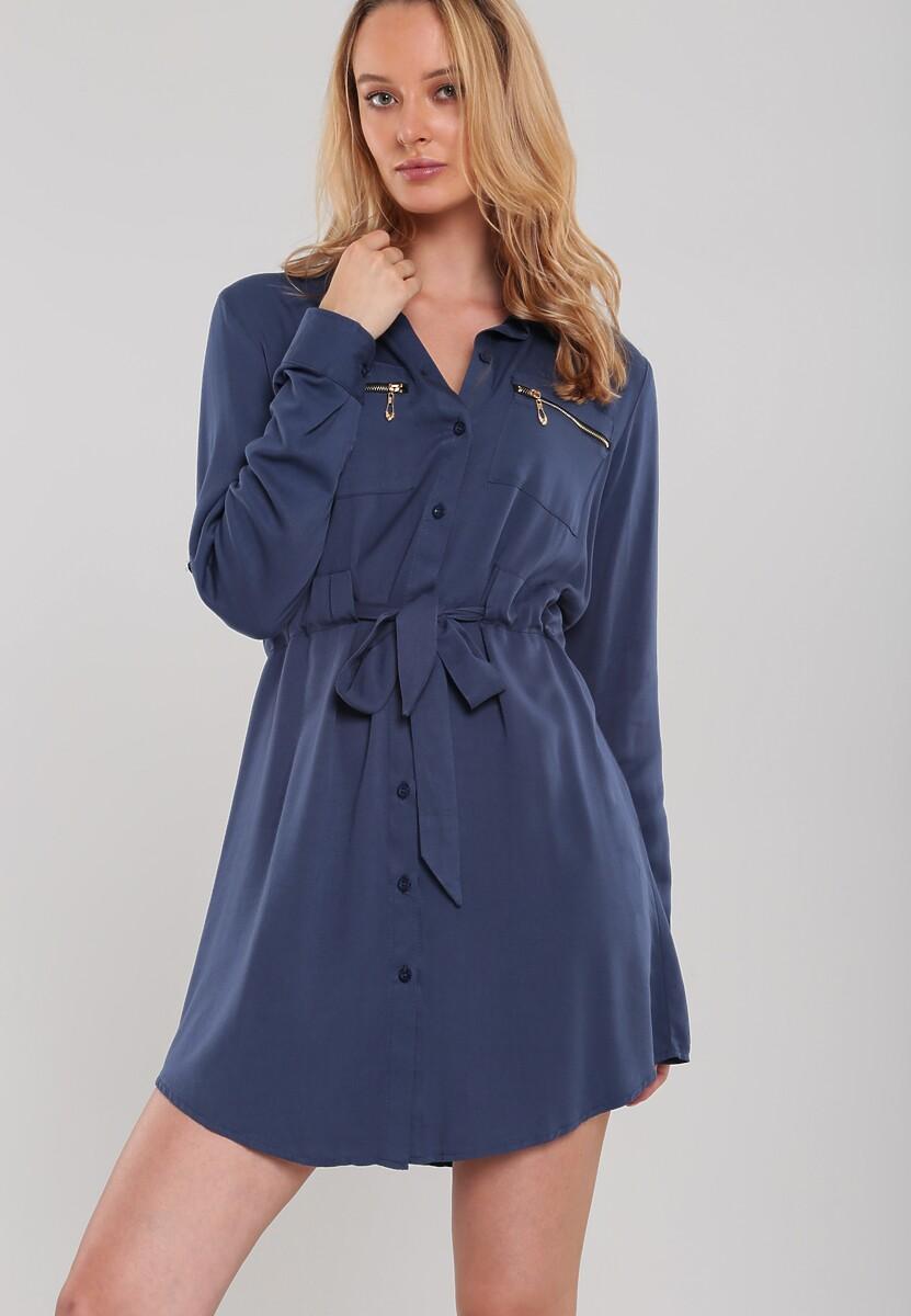 Ciemnoniebieska Sukienka Lathlain
