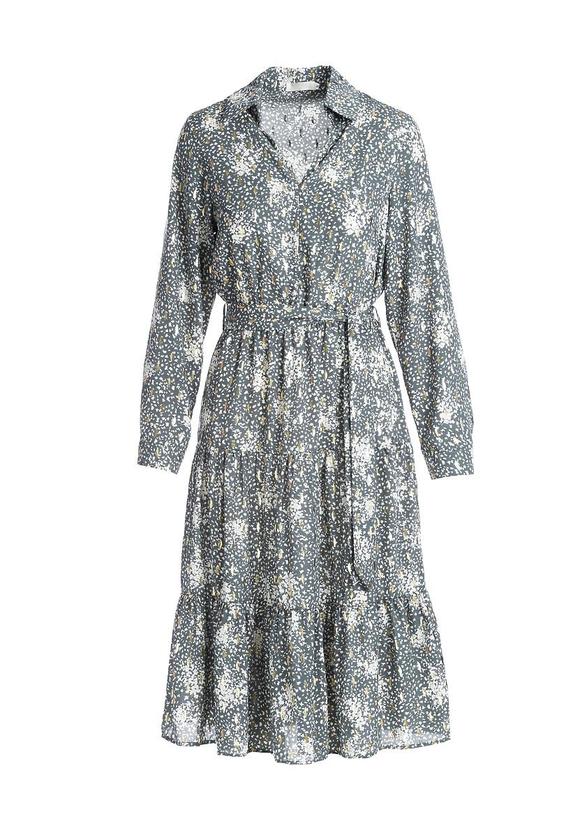 Miętowa Sukienka Fannie
