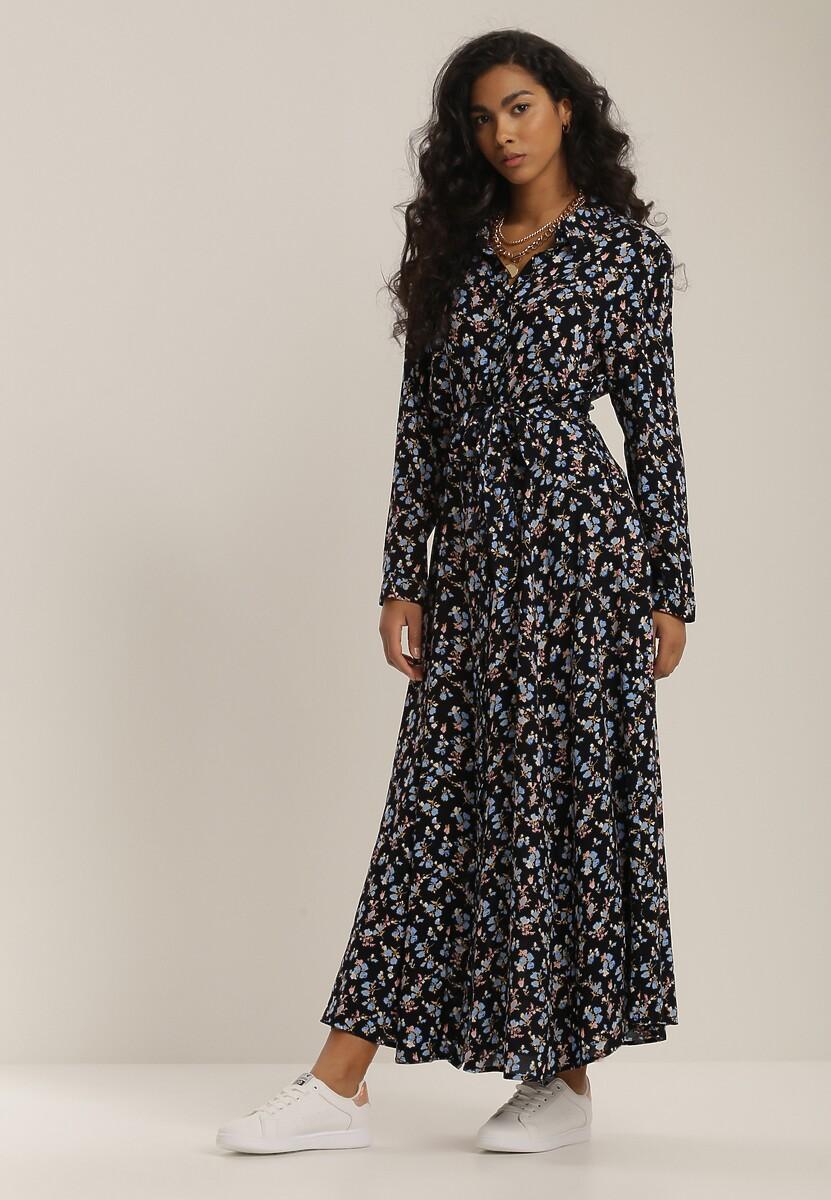 Granatowa Sukienka Farley