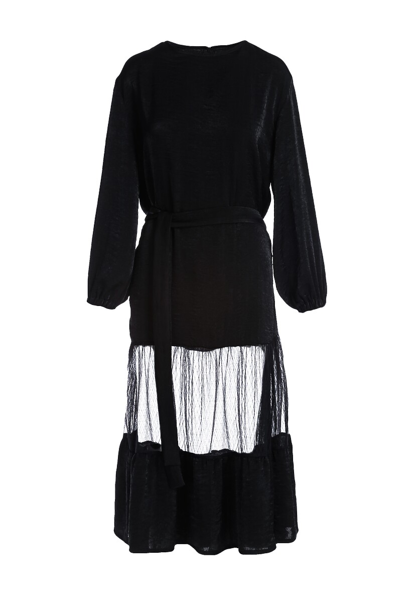 Czarna Sukienka Carseldine