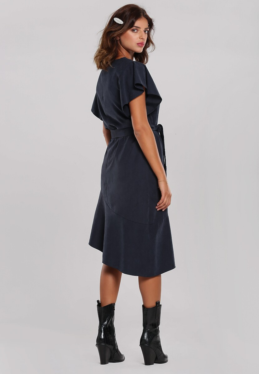 Granatowa Sukienka Chermside