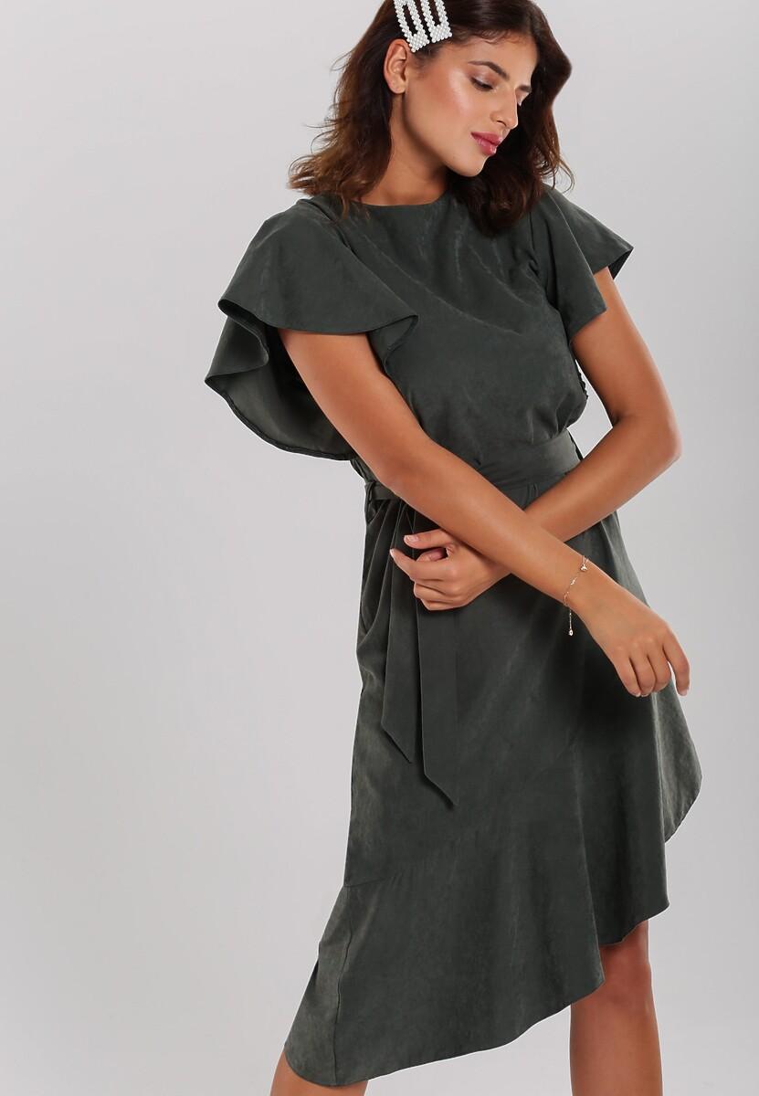 Ciemnozielona Sukienka Chermside