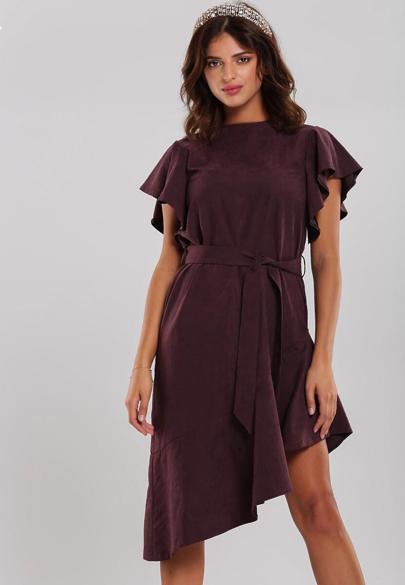 Bordowa Sukienka Chermside