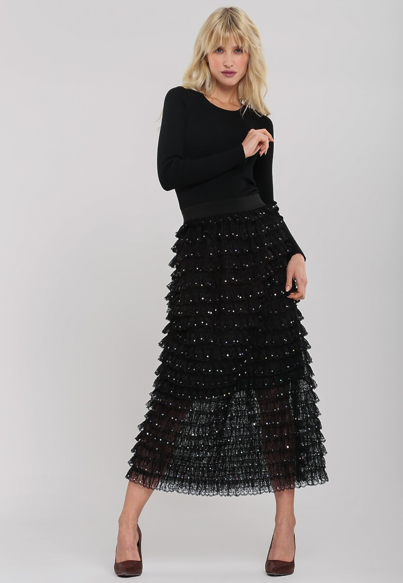 Czarna Sukienka Beachmere